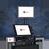 On-line cash registers